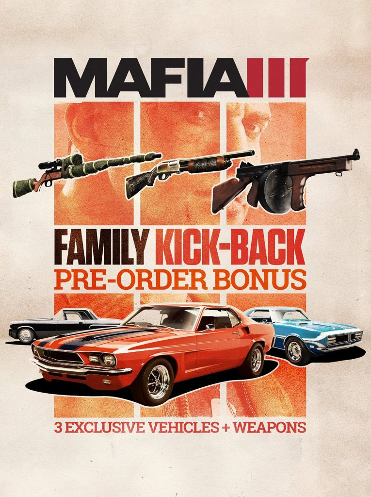 Official Mafia III - Family Kick Back Pack DLC (PC)