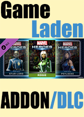 Official Marvel Heroes 2015 - Rogue Pack (PC)