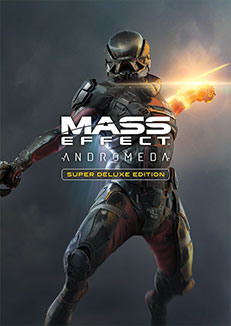 Official Mass Effect Andromeda / Mass Effect 4 - Super Deluxe Edition (PC)(Guthaben Code - nur DE)