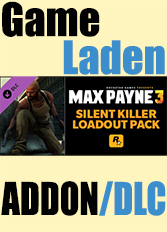 Official Max Payne 3: Silent Killer Loadout Pack (PC)