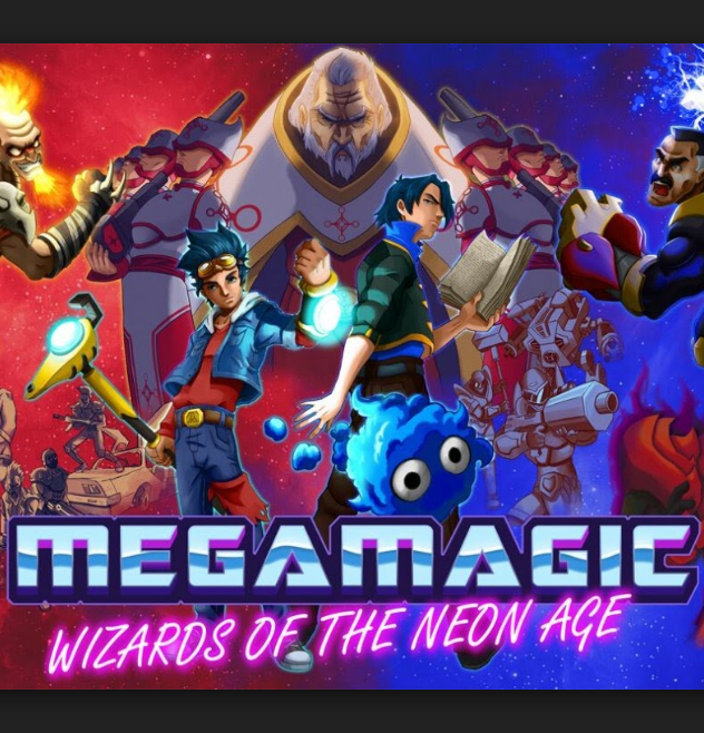 Official Megamagic Wizards of the Neon Age (PC)