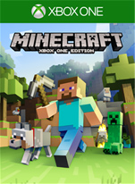 Official Minecraft (Xbox One Download Code)