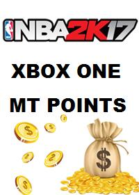 Official 50.000 NBA 2K17 MT Points - Xbox One