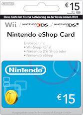 Official Nintendo eShop Card - 15 Euro Guthaben (EU)