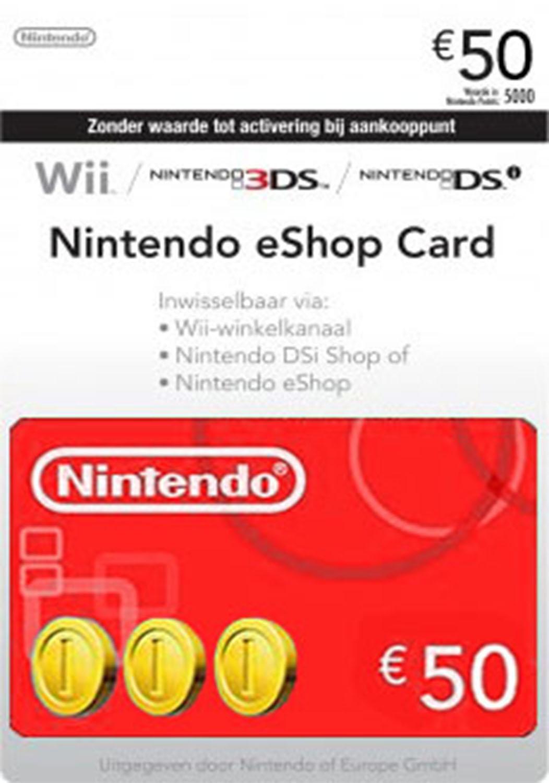 Official Nintendo eShop Card - 50 Euro Guthaben (EU)