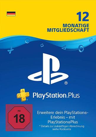 PlayStation Network Plus Card 365 Days DE (PS4/PS3/DE)