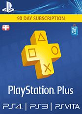 Official PlayStation Plus - 90 Tage (PS4/PS3/CH)