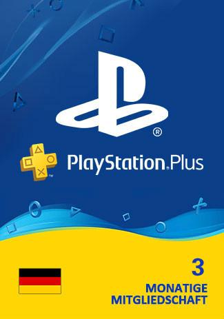 Official PlayStation Plus - 90 Tage (PS4/PS3/DE)