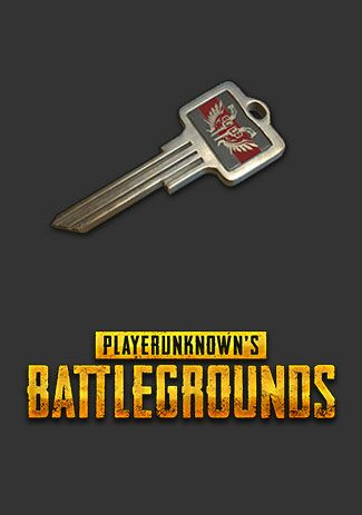 Official PUBG 10x Weapon Cosmetic Keys (PC)