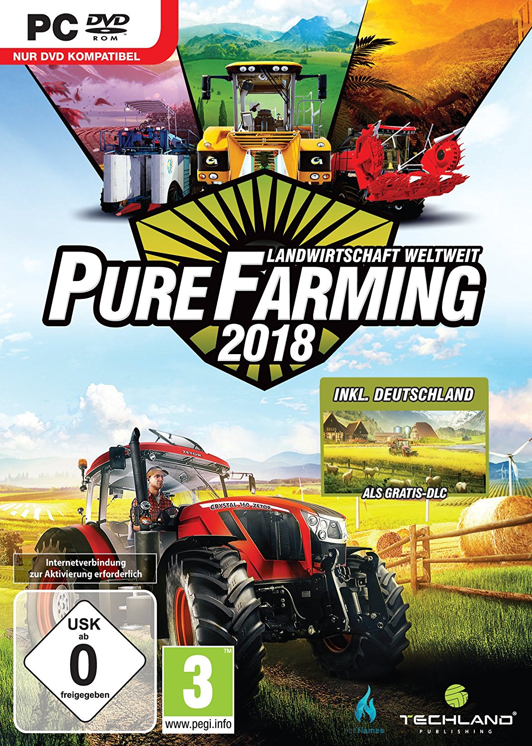 Official Pure Farming 2018 - Day One Edition (PC)