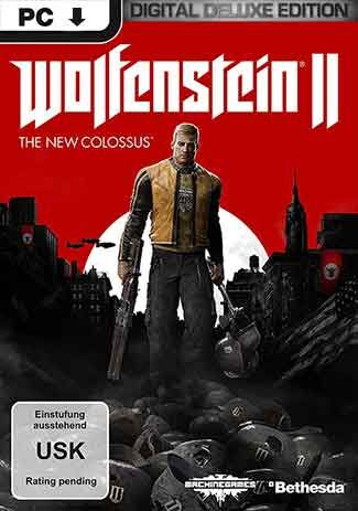Official Wolfenstein II: The New Colossus - Digital Deluxe (PC) DE Version
