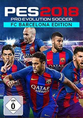 Official Pro Evolution Soccer 2018 - FC Barcelona Edition (PC)