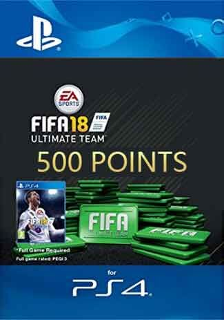 Official FIFA 18 Ultimate Team - 500 FIFA Points (PS4 Code/DE)
