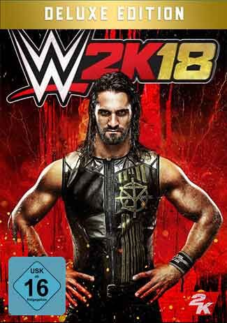 Official WWE 2K18 - Digital Deluxe Edition (PC)