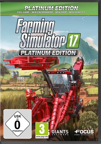 Official Landwirtschafts-Simulator 17 - Platinum Edition (PC)