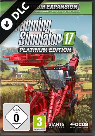 Official Landwirtschafts-Simulator 17 - Platinum DLC (PC)