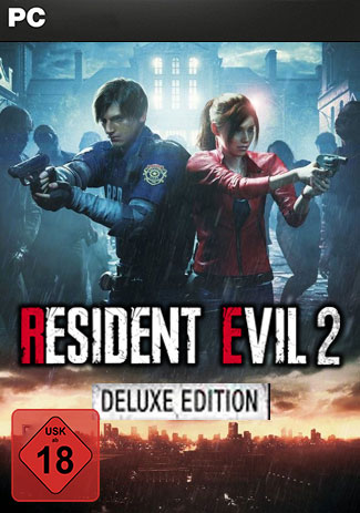 Official RESIDENT EVIL 2 / BIOHAZARD RE:2 Deluxe Edition (PC)