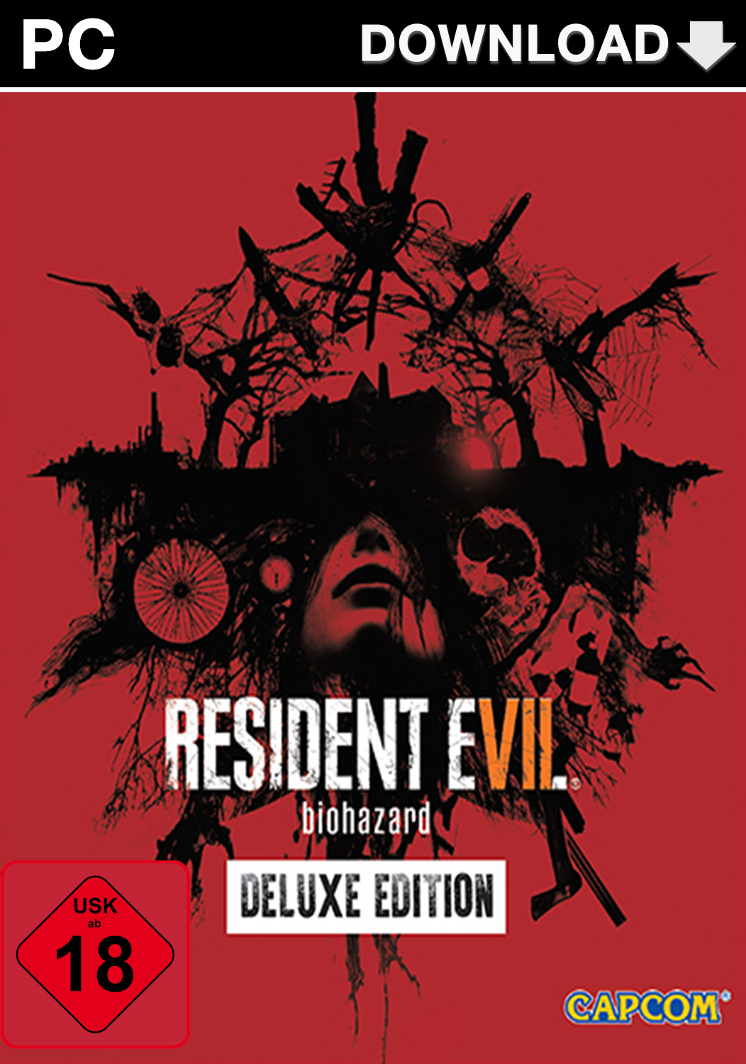 Official Resident Evil 7 - Deluxe Edition (PC/EU)