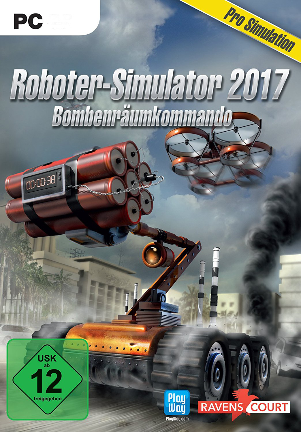 Official Roboter-Simulator 2017 (PC)