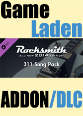 Official Rocksmith 2014 - 311 Song Pack (PC)