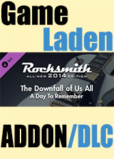 Official Rocksmith 2014 - A Day To Remember - The Downfall of Us All (PC)