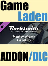 Official Rocksmith 2014 - Foo Fighters - Monkey Wrench (PC)