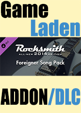 Official Rocksmith 2014 - Foreigner Song Pack (PC)