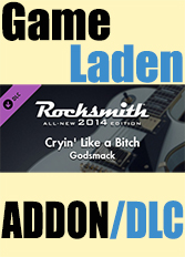 Official Rocksmith 2014 - Godsmack - Cryin' Like a Bitch (PC)