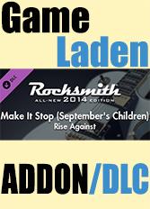 Official Rocksmith 2014 - Rise Against - Make It Stop (September'S Children)