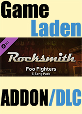 Official Rocksmith - Foo Fighters 5-Song Pack (PC)