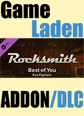 Official Rocksmith - Foo Fighters - Best of You (PC)