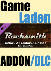 Official Rocksmith - Guitars and Basses - Time Saver Pack (PC)
