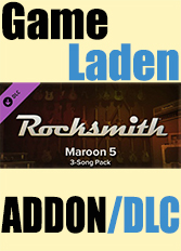 Official Rocksmith - Maroon 5 Song-Pack (PC)
