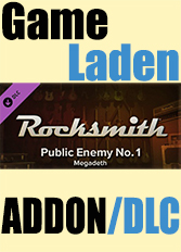 Official Rocksmith - Megadeth - Public Enemy No. 1 (PC)