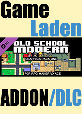 Official RPG Maker: Old School Modern Resource Pack (PC)