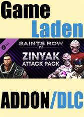 Official Saints Row IV - Zinyak Attack Pack (PC)