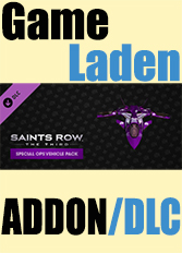 Official Saints Row: The Third - Special Ops Vehicle Pack (PC)
