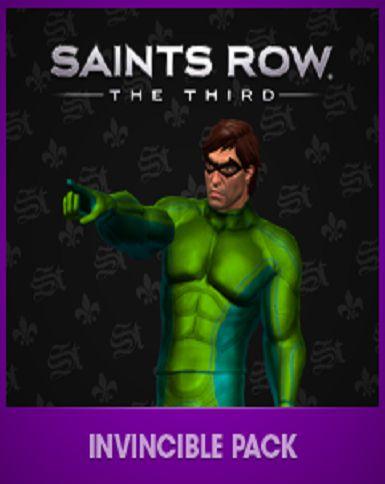 Official Saints Row the Third - Invincible Pack DLC (PC)
