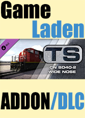 Official SD40-2 CN Wide Nose Add-On (PC)