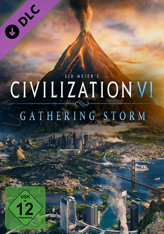 Official Sid Meier's Civilization VI: Gathering Storm (PC/Addon/EU)