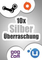 10x Silber-Überraschung (Steam, Origin, Uplay, GoG)