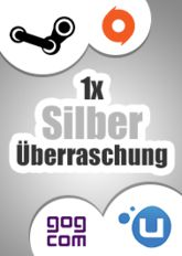 1x Silber-Überraschung (Steam, Origin, Uplay, GoG)