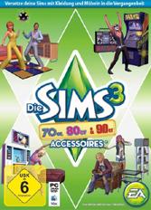 Official Die Sims 3: 70er, 80er & 90er-Accessoires DLC (PC)