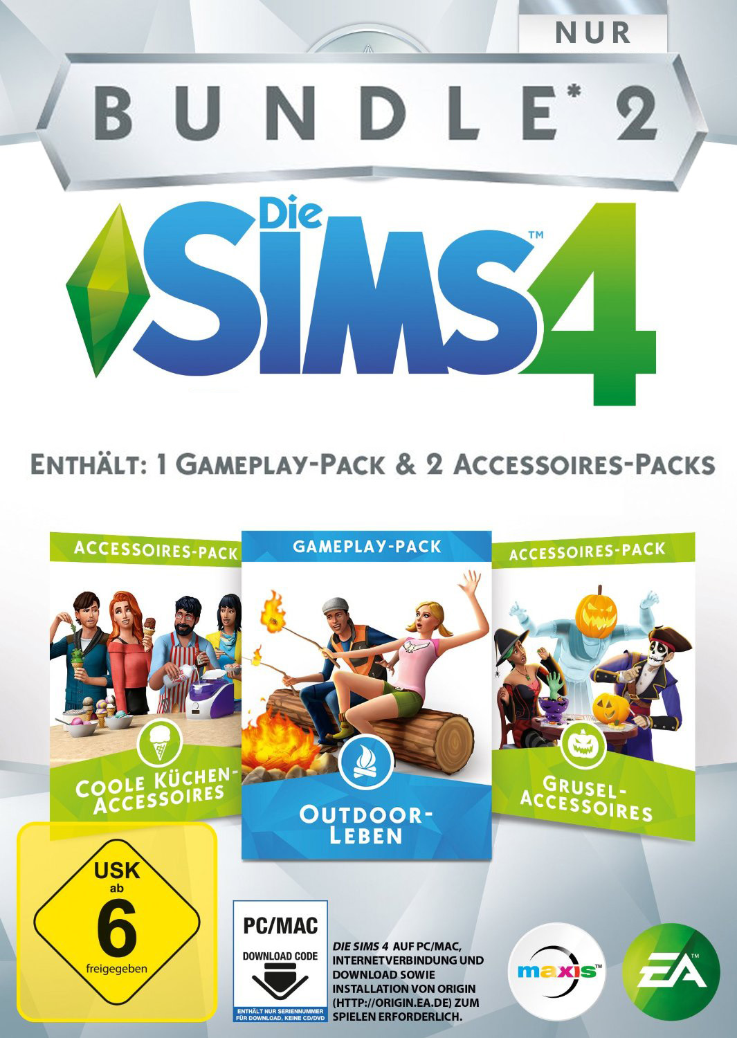 Official Die Sims 4 - Bundle Pack 2 (PC)