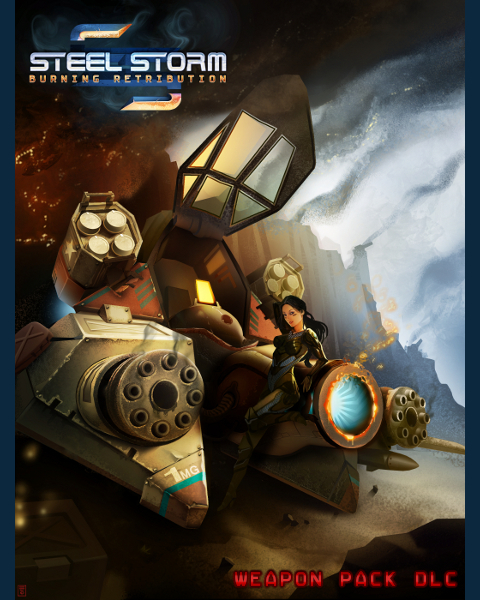 Official Steel Storm Weapon Pack DLC (PC)