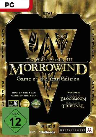 Official The Elder Scrolls III: Morrowind - Game of the Year Edition (PC)
