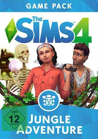 Official Die Sims 4 - Dschungel Abenteuer (PC/Mac)