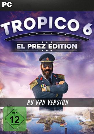 Official Tropico 6 El Prez Edition RU Version (PC)
