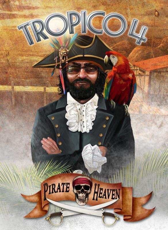 Official Tropico 4: Pirate Heaven DLC (PC)