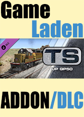 Official Union Pacific GP50 Loco Add-On (PC)